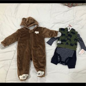 Baby boy carter outfit & jumper